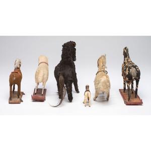 Six Animal Toys