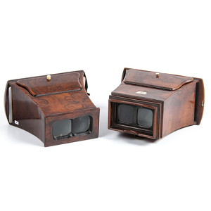 Murray & Heath Stereoscope, Plus Brewster-Style Stereoscope