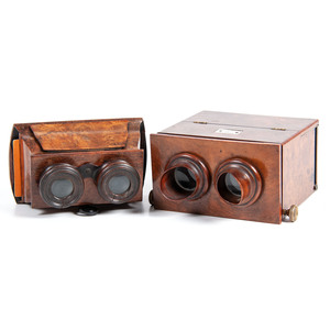 W.W. Rouch, London, Stereoscope, Plus Brewster-Style Stereoscope