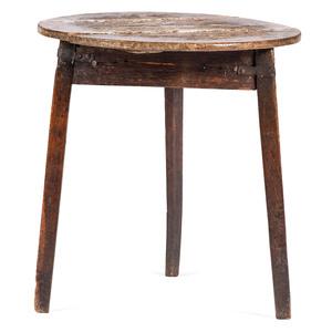 A Primitive Oak Side Table
