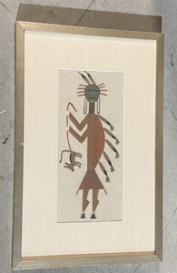 American Indian Sand Painting