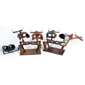 Vintage Dr. Wells' Stereoscopes, Holmes-Style Stereoscopes, and 140+ Stereoviews