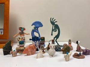 Assorted Miniature Sculptures Plus