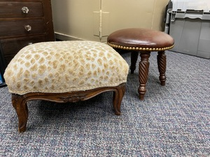 Two Small Footstools