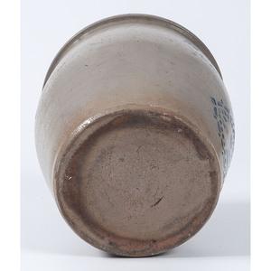 A West Virginia Two-Gallon Stoneware Jar