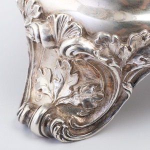A Gorham Sterling Epergne with Vase