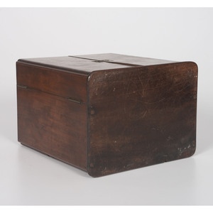 A George III Mahogany Apothecary Chest