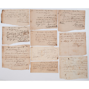 Pay Orders from Franklinton, OH, 1814