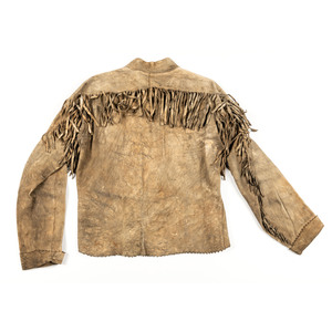 Northern Plains Beaded Hide Jacket, From an Estate in Sinking Springs, Ohio