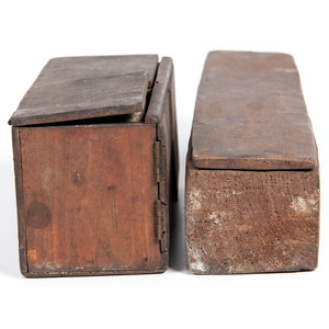 Wood Containers, From an Estate in Sinking Springs, Ohio