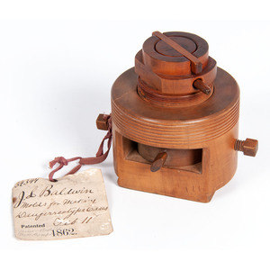 1862 Patent Model of a Mold for Making