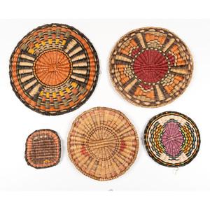Hopi Third Mesa Wicker Plaques