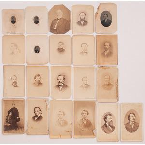 Iowa 21st Infantry, CDVs of Civil War Soldiers, Henry Ward Beecher, Plus