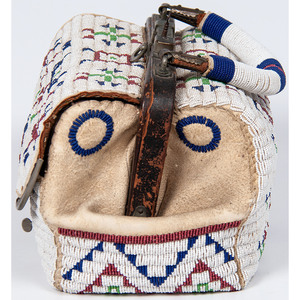 Sioux Beaded Hide Doctor's Bag