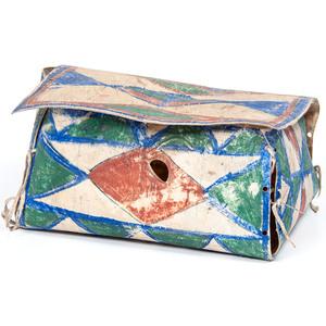 Sioux Painted Parfleche Box