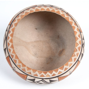 Lucy Lewis (Acoma, 1898-1992) Attributed, Pottery Jar