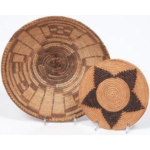 Akimel O'odham and Maidu Baskets