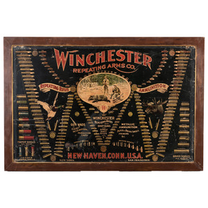 Winchester Repeating Arms Cartridge Board