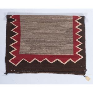 Navajo Open Field Saddle Blanket / Rug
