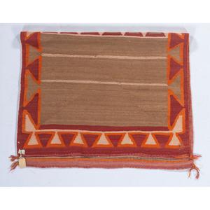 Navajo Double Saddle Blanket / Rug