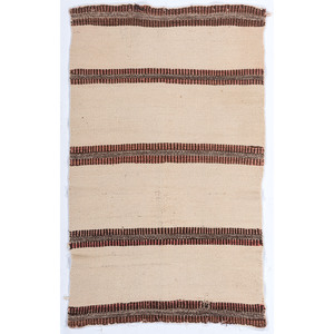 Navajo Twill Double Saddle Blanket / Rug
