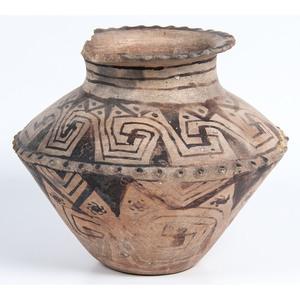 Tohono O'odham Pottery Jar