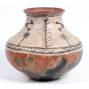 Tesuque Pottery Jar