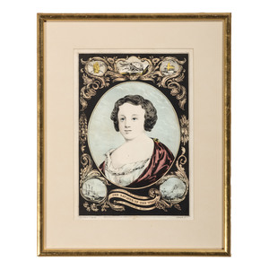 Four Hand-Colored Currier & Ives Lithographs
