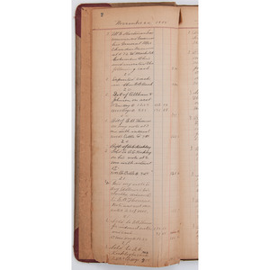 Lot of 12 Late 19th-Century and Early 20th-Century Manuscript Items, Incl. Notes from Sons of Temperance Organization