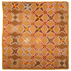 A Pieced Phillipines Star Quilt