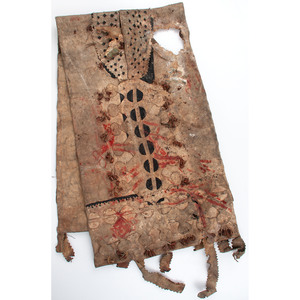 Apache Full Size Hide Saddle Bags, From an Estate in Sinking Springs, Ohio
