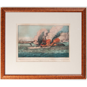 Currier & Ives Civil War Battle Prints, Lot of 3