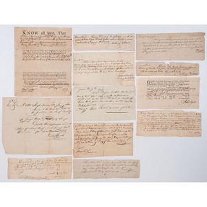 Colonial and Early 19th Century Documents