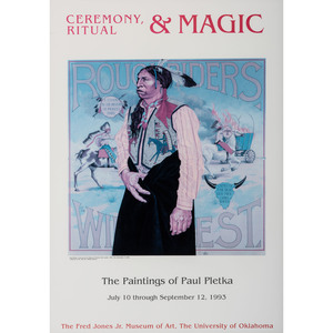 Ceremony, Ritual & Magic: The Paintings of Paul Pletka Exposition Poster