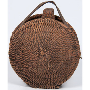 Apache Basketry Canteen, From the Stanley B. Slocum Collection, Minnesota