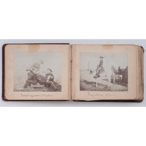 Two Spanish-American War-Era Photograph Albums Documenting the 15th Minnesota Volunteer Infantry, Incl. African American Subjects