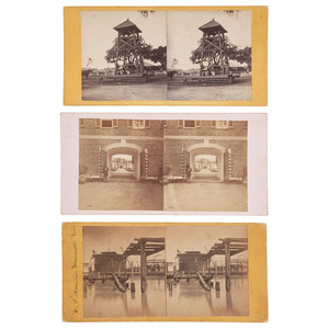 Theodore Lilienthal, Three New Orleans Stereoviews with Civil War Subject Matter