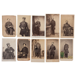 Civil War CDVs of Naval Officers