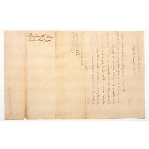 James Warren LS to John Langdon Regarding Financial Matters, August 1778