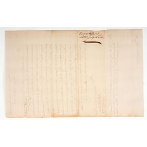 James Warren LS to John Langdon, July 1778