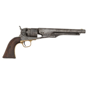 Martial-Marked Colt Model 1860 Revolver