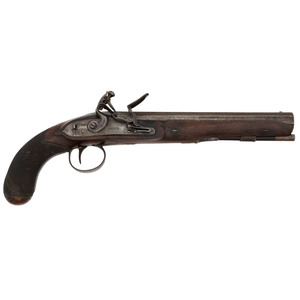 Flintlock Pistol by Krider of Philadelphia