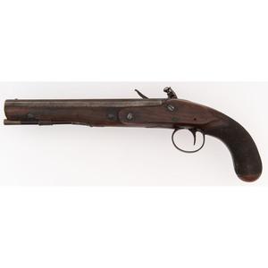 Flintlock Pistol by Krider of Philadelphia