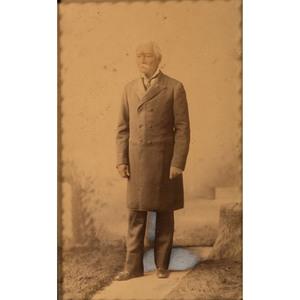 Hand-Tinted Large Format Photograph of PGT Beauregard