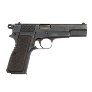 German Marked Browning Hi-Power with Holster