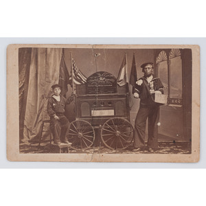 Stanton's Official Dispatch, Fort Fisher Double Amputee CDV