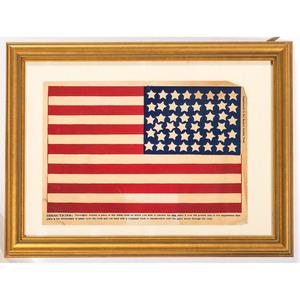 46-Star Boston Post Transfer Flag