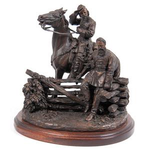 Ron Tunison Sculpture of Longstreet and Pickett