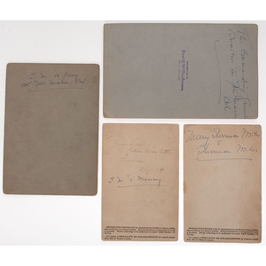 Lieutenant General Nelson A. Miles, Extensive Archive Incl. Personal Correspondence with his Wife, 1863-1900s, Featuring Detailed Letters Discussing Indian Wars Campaigns and Interactions with Sitting Bull and Chief Joseph