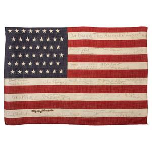 48-Star SS Amerika Flag